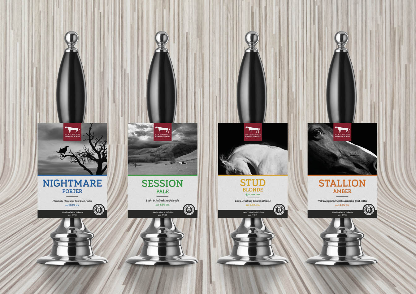 The core range pump clips which feature a traditional but distinctly clean and contemporary design.